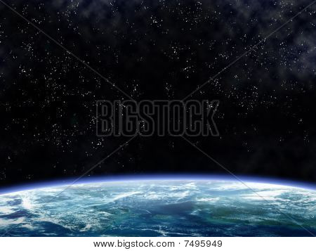 Orbiting The Earth