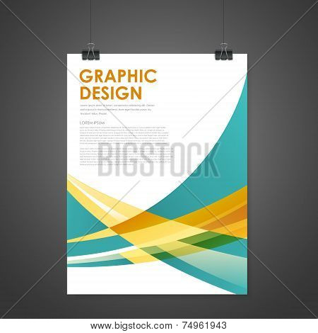 Abstract Modern Poster Template