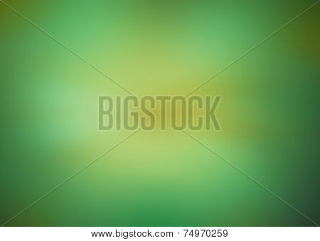 Blur Of Green Yellow Gradient Color Background