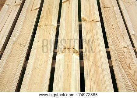 Light Golden Wooden Plank