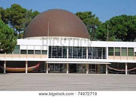 Planetarium In  Lisbon, Portugal