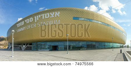 Sami Ofer football stadium in Haifa, Israel