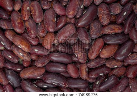 Delicious Food Background Of Brown Beans