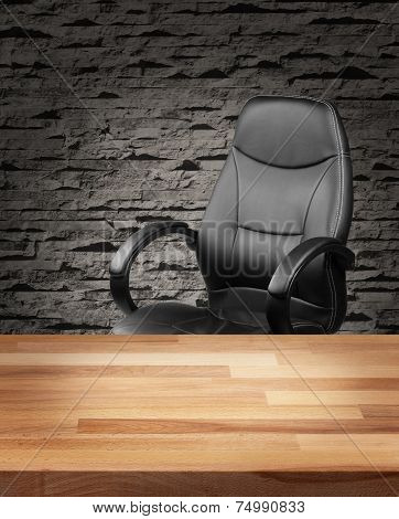 Executive Chair In Luxury Office Business Concept