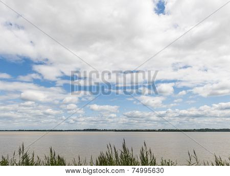 River Gironde France