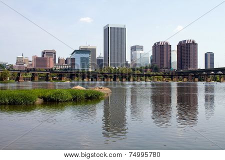 Richmond Virginia Skyline View