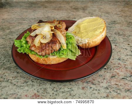 Burger On Bun