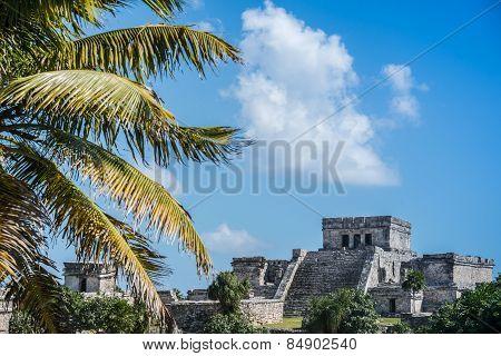 Tulum Mayan Ruins, Traveling Caribbean, Quintana Roo, Beautiful Mexico.