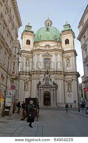 St. Peters's Church In Vienna (austria)