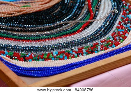 Handmade jewelery.