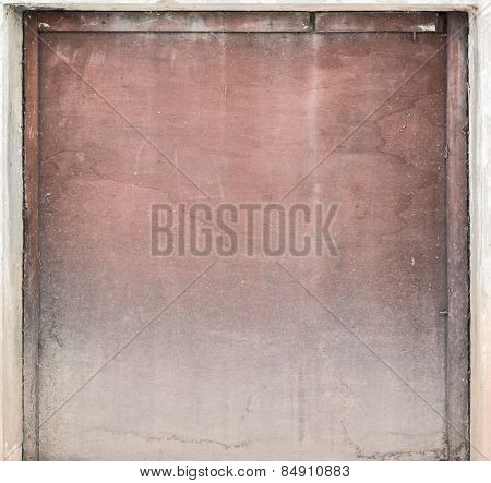 Old painted plywood as abstract background