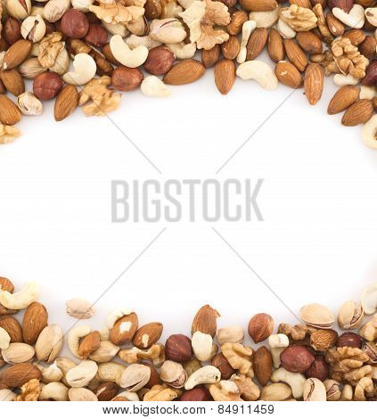 Almond, pistachio, peanut, walnut, hazelnut mix