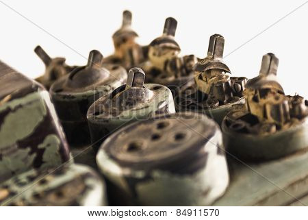 Old light-switches and sockets