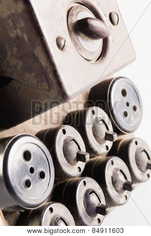 Obsolete light-switches and sockets