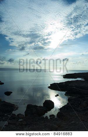 Clouds over the sea, Malta
