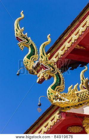 Naga Lanna Gable Apex With Blue Sky