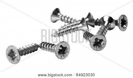 Close-up of screws
