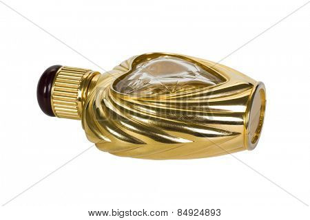 Close-up of a perfume bottle