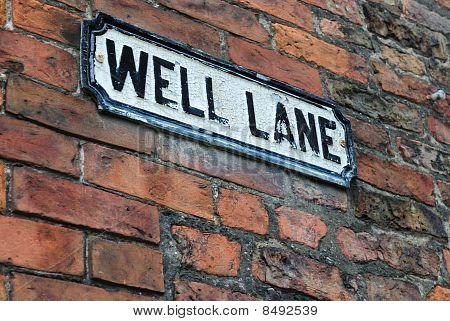 Well Lane