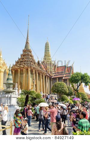 Bangkok, Thailand - December 29, 2012: Prasat Phra Thep Bidorn