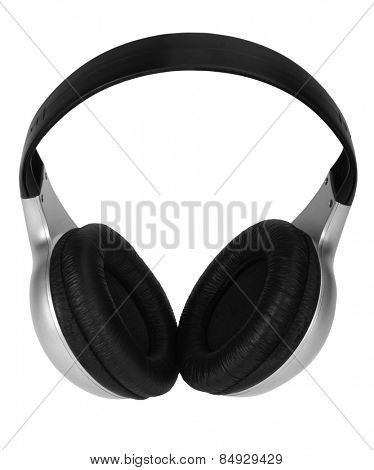 Close-up of headphones