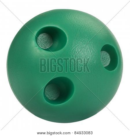 Close-up of a bowling Ball