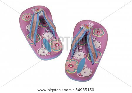Close-up of a pair of flip-flops