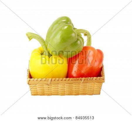 Paprika In Basket