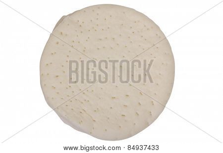Close-up of a pizza dough
