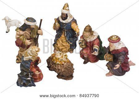 Nativity figurines