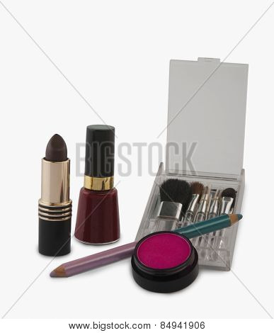 Close-up of cosmetics