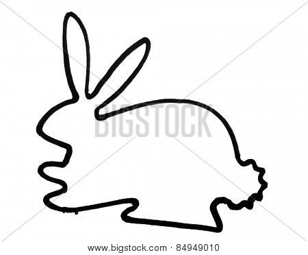 Outline of hare