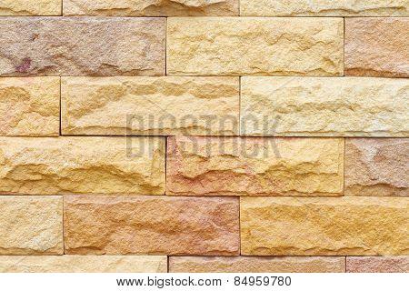 Beautiful Sandstone Brick Wall