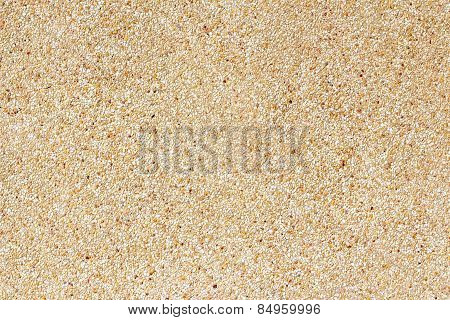 Surface And Texture Of Fine Mix Size Gravel Wall