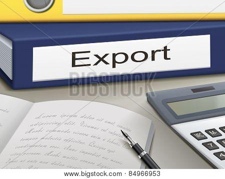 Export Binders