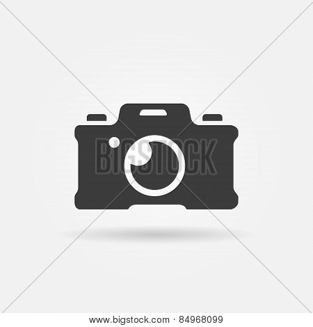 Photo camera icon or logo