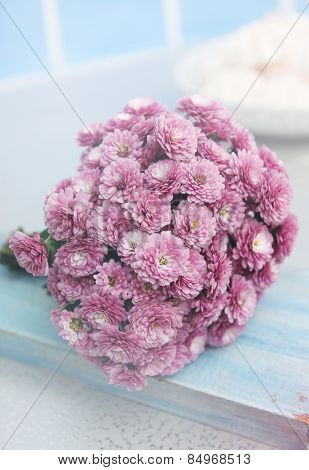Small Bouquet Of Chrysanthemums