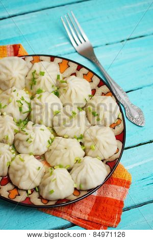 Khinkali With Pork And Onions
