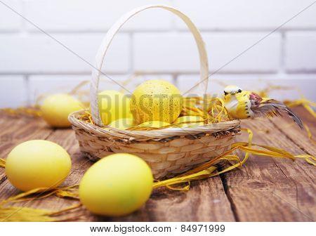 Yellow Easter Still