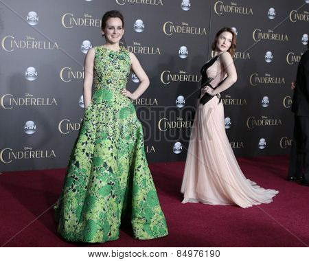 LOS ANGELES - MAR 1:  Sophie McShera, Holliday Grainger at the