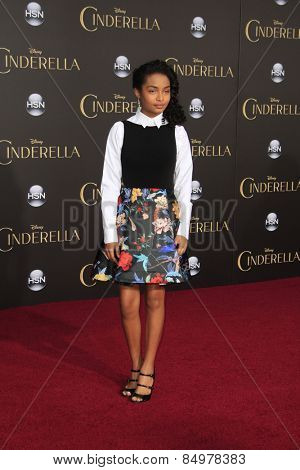 LOS ANGELES - MAR 1:  Yara Shahidi at the