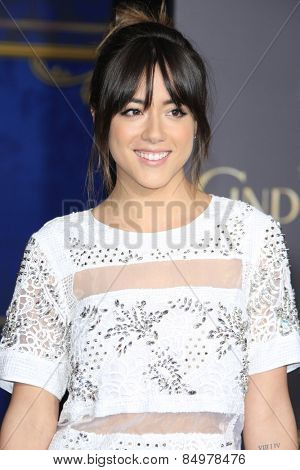 LOS ANGELES - MAR 1:  Chloe Bennet at the