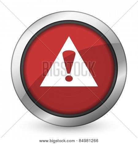exclamation sign red icon warning sign alert symbol