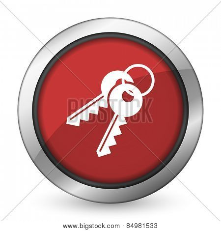 keys red icon