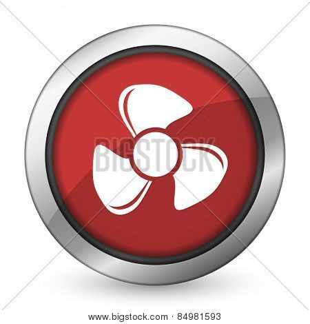fan red icon