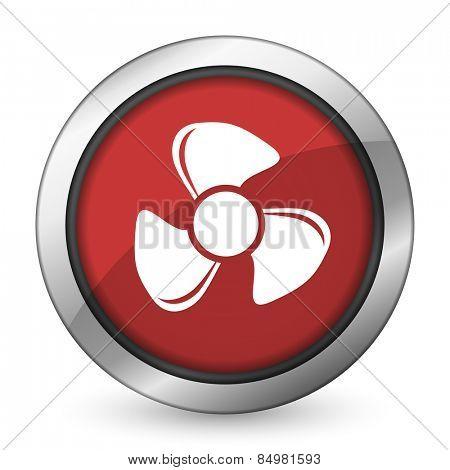 fan red icon