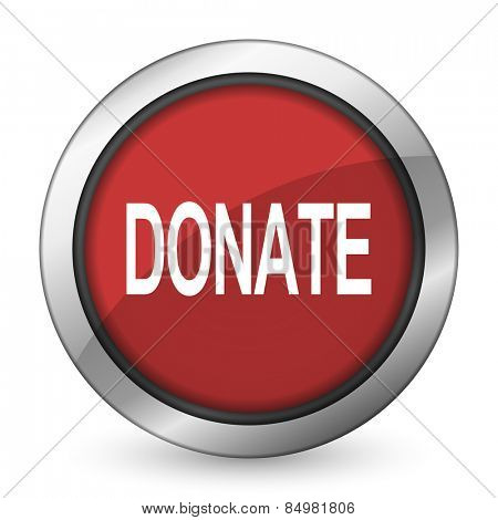 donate red icon