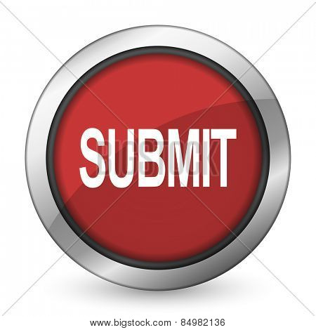 submit red icon