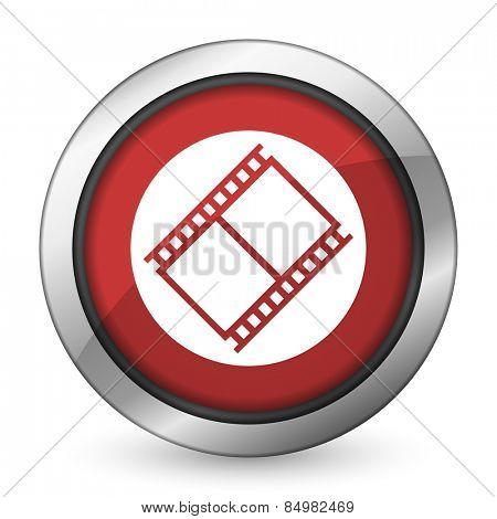 film red icon movie sign cinema symbol