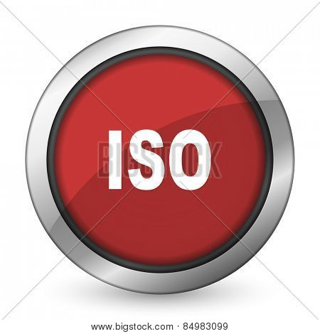 iso red icon